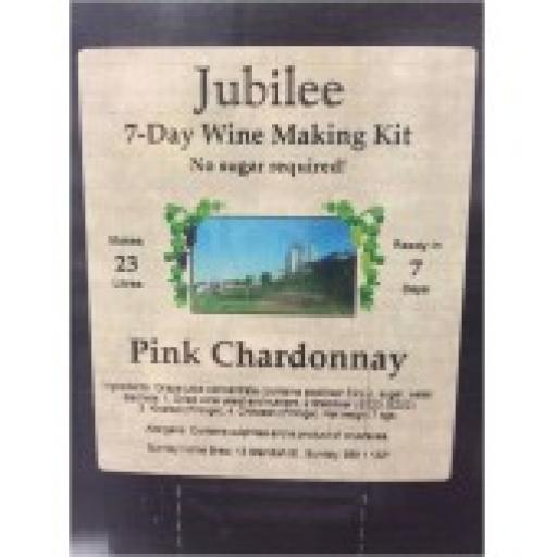 Jubilee Pink Chardonnay