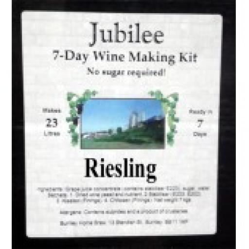 Jubilee Riesling