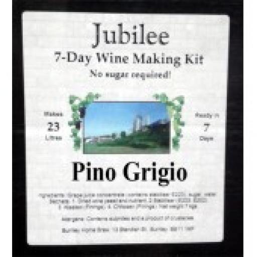 Jubilee Pinot Grigio