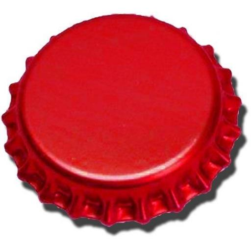 Crown caps red 40s