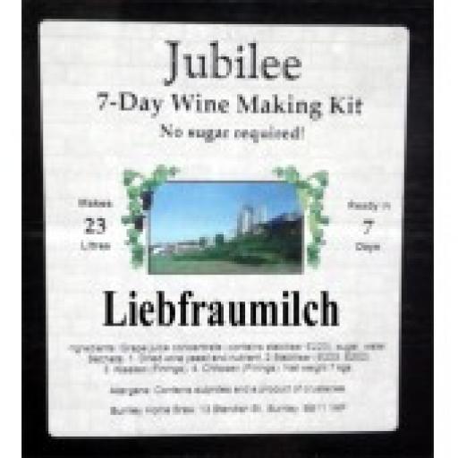 Jubilee Liebfraumilch