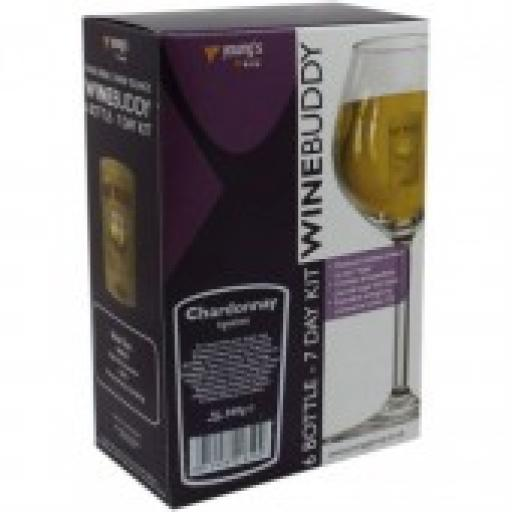 WineBuddy Fruit 6 Bottle Apricot
