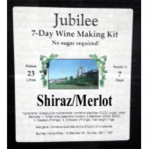 Jubilee Shiraz/Merlot
