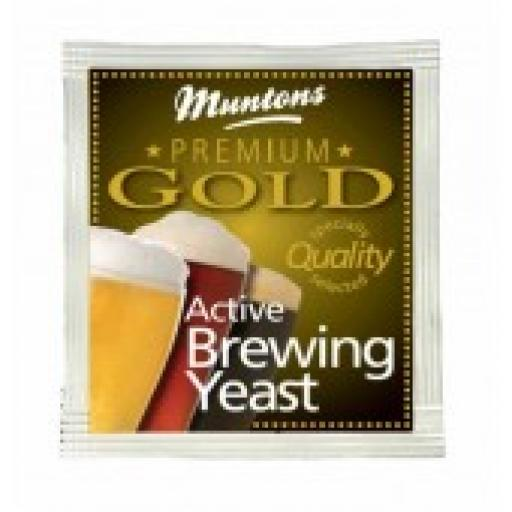 Muntons Premium Gold Active Brewing Yeast