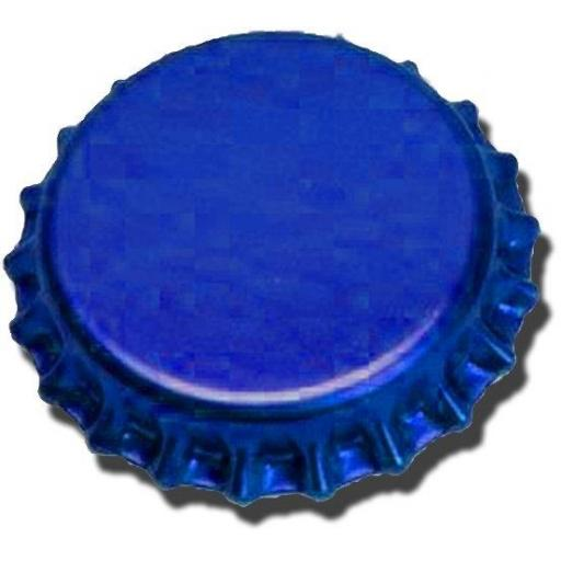 crown caps 40s blue