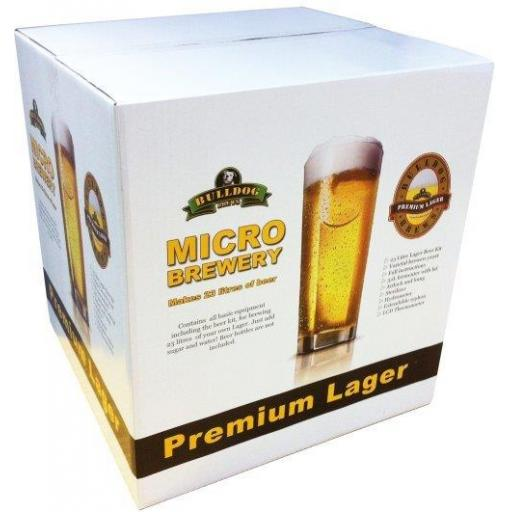 Bulldog Micro Brewery - Lager
