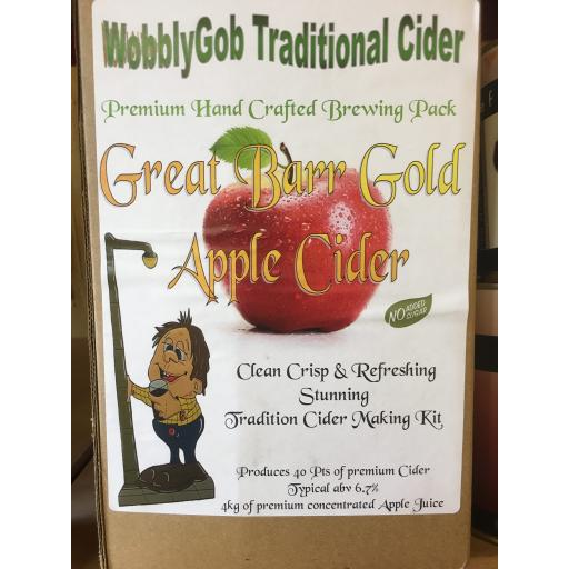 WobblyGob Great Barr Gold Apple Cider