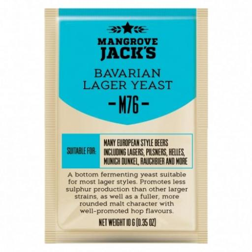 Mangrove Jack's Bavarian Lager Yeast M76