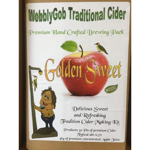 WobblyGob Golden Sweet Cider