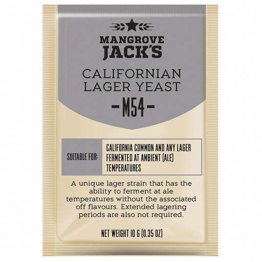 Mangrove Jack's Californian Lager Yeast M54