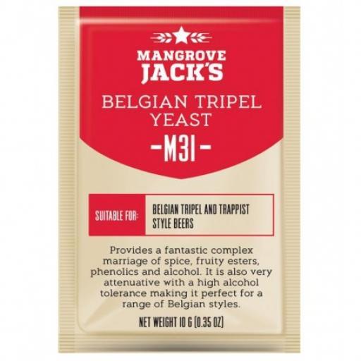 Mangrove Jack's Belgian Triple Yeast M31