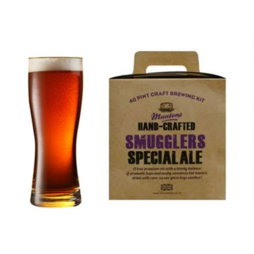 Muntons Hand Crafted Smugglers Special Alel