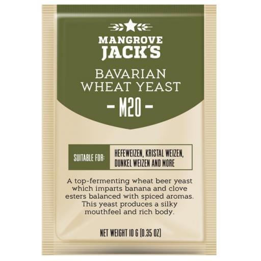 Mangrove Jack's Bavarian Wheat Yeast M20