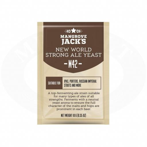 Mangrove Jack's New World Strong Ale Yeast M42