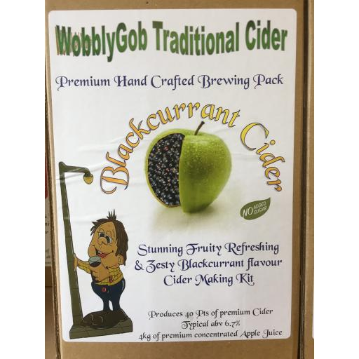 WobblyGob Blackcurrant Cider