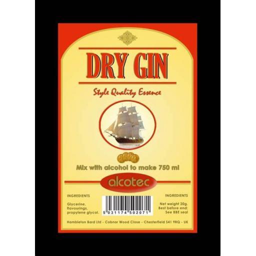 Alcotec Dry Gin