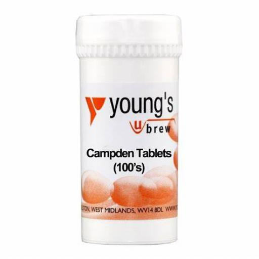 Young's Campden Tablets 100's