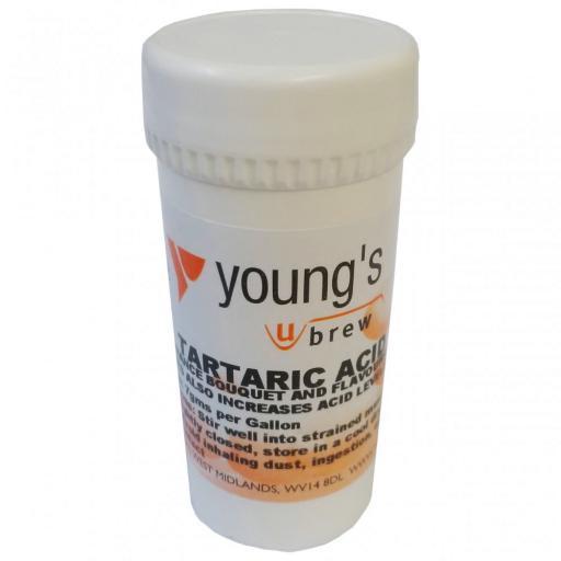 Young's Tartaric Acid 50grm