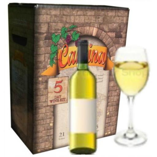Cantina Chardonnay 5 day wine kit