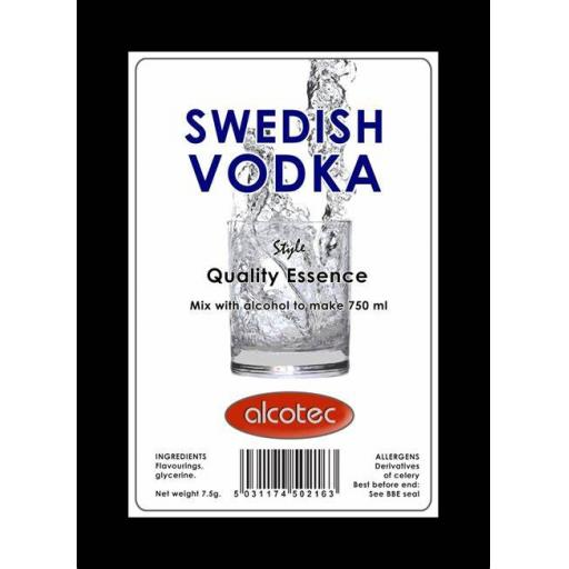 Alcotec Swedish Vodka