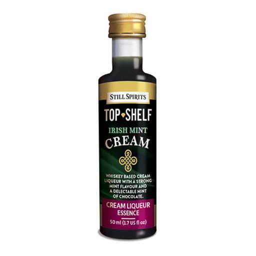 Still Spirits Top Shelf Cream Liqueur Irish Mint Cream