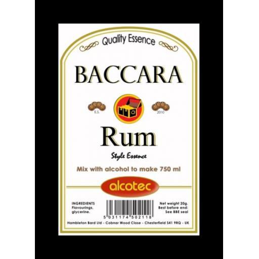 Alcotec Baccara Rum