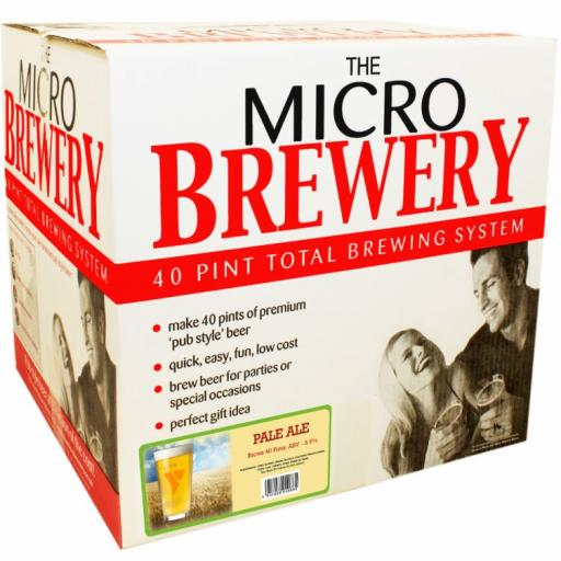 """Micro Brewery Young's - """"Pale Ale"""" System"""