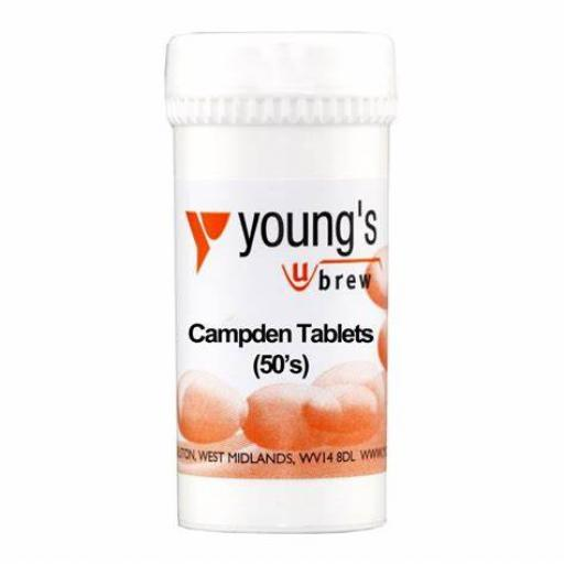 Young's Campden Tablets 50's