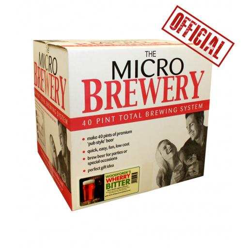 """Micro Brewery Young's - """"Woodforde's"""" System"""