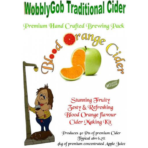 WobblyGob Blood Orange Cider