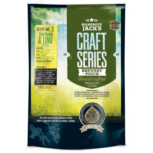 Mangrove Jack's Craft Series Elderflower & Lime Cider