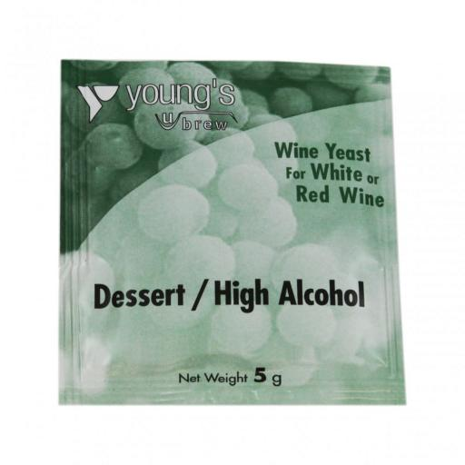 Young's Dessert / High Alcohol Yeast 5g