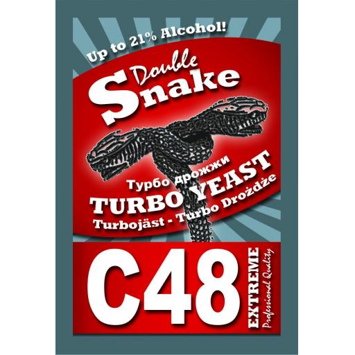 DoubleSnake C48 Turbo Yeast