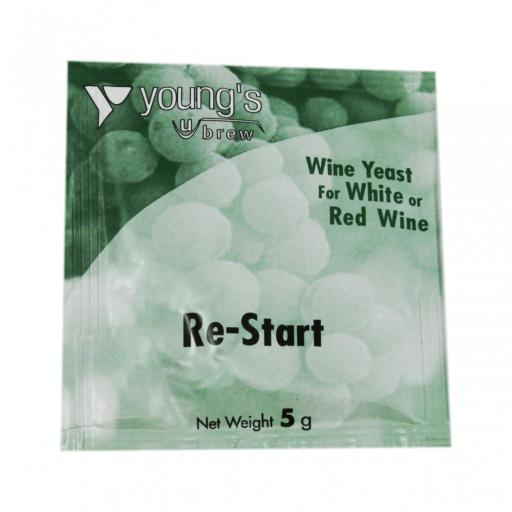 Young's Re-Start Yeast 5g