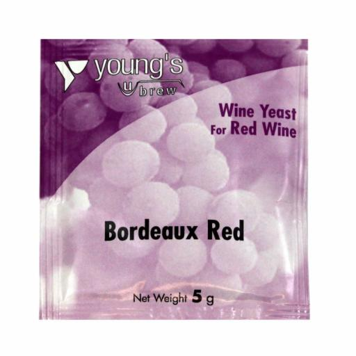 Young's Bordeaux Red Wine Yeast 5g