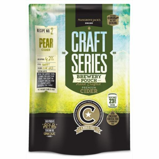 Mangrove Jack's Craft Series Pear Cider