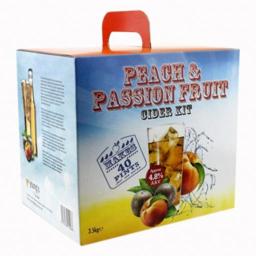 Young's Peach & Passion Fruit Cider Kit