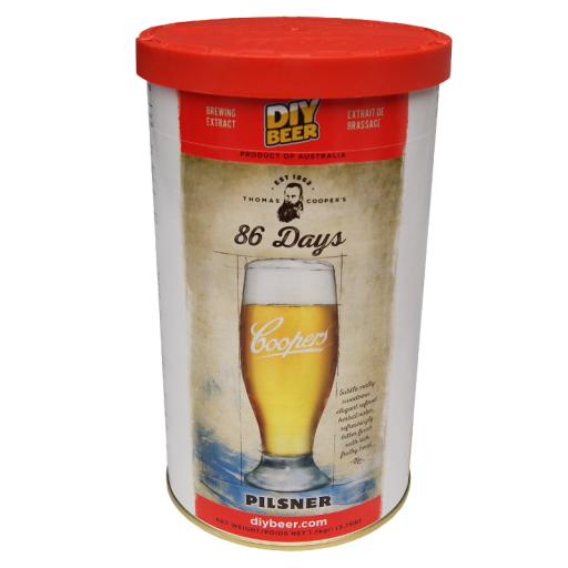 Coopers 86 Day Pilsner