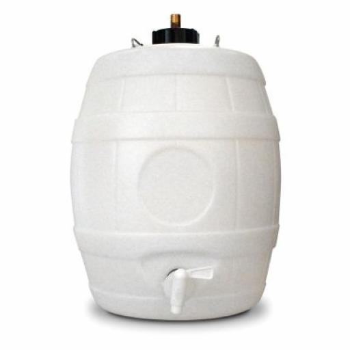 "25L Barrel with Pin valve 2"" neck"