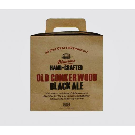 Muntons Hand-Crafted Old Conkerwood Black Ale