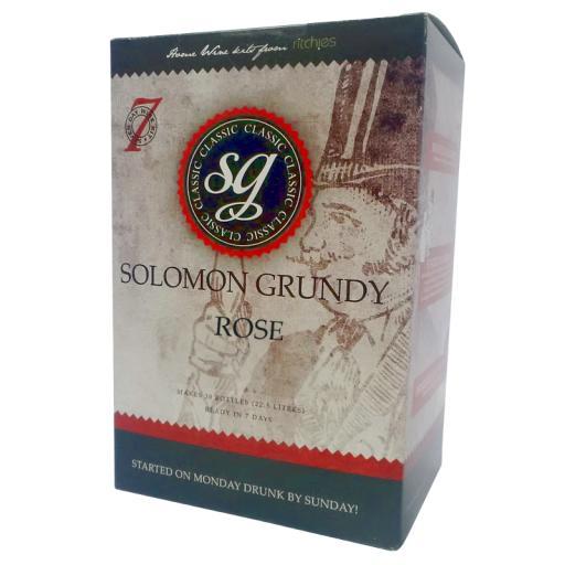 Solomon Grundy Classic Rose 30 bottle