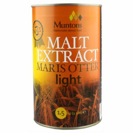 Muntons Light Plain Malt Extract 1.5kg