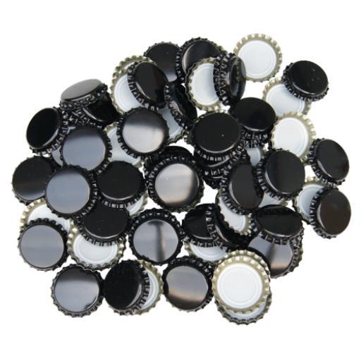 Crown Caps 50's Black