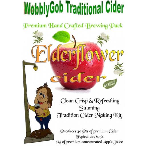 WobblyGob Elderflower Cider
