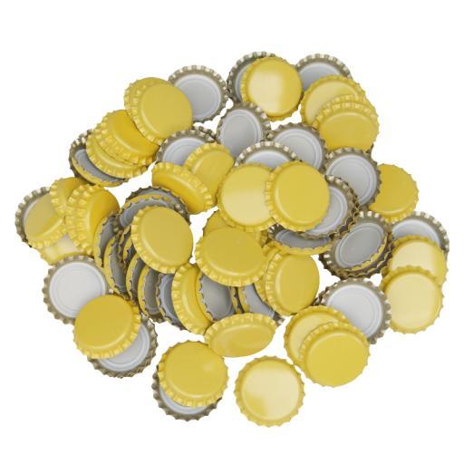 Crown Caps 50's Yellow